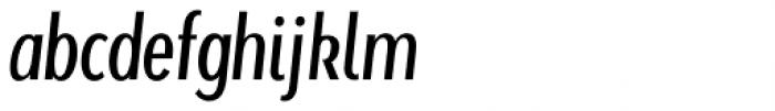Beaumont Light Italic Font LOWERCASE