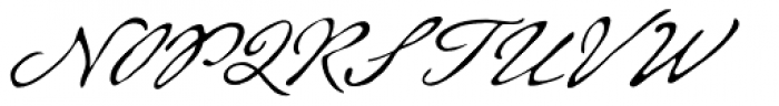 Beaurencourt FY Light Font UPPERCASE