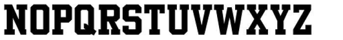 Beaus Varsity Font LOWERCASE