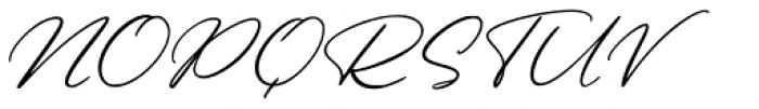 Beautiful Heart Regular Font UPPERCASE