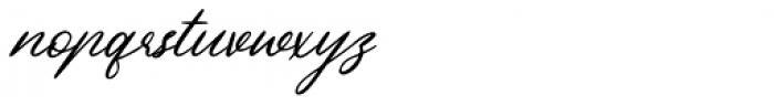 Beautiful Heart Regular Font LOWERCASE