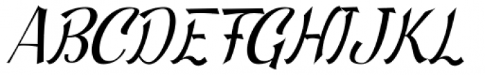 Beautiful Trouble Slanted Font UPPERCASE
