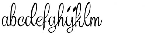 Beautiful Trouble Thin Font LOWERCASE