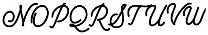 Beautinela Bold Font UPPERCASE