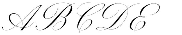 Beauty Athena Italic Font UPPERCASE