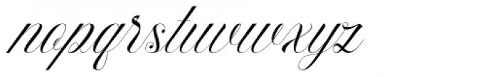 Beauty Athena Italic Font LOWERCASE
