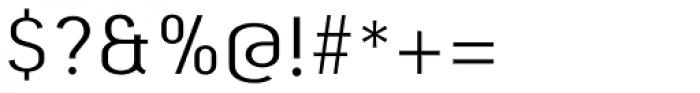 Beba Light Font OTHER CHARS