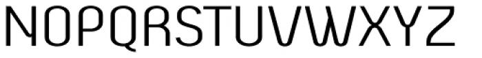 Beba Light Font UPPERCASE