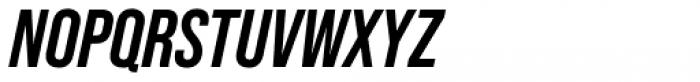 Bebas Neue Pro Bold Italic Font UPPERCASE