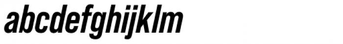Bebas Neue Pro Bold Italic Font LOWERCASE