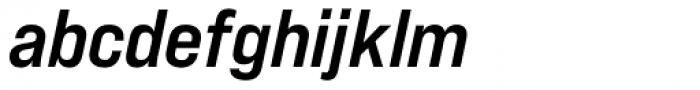 Bebas Neue Pro Expanded Bold Italic Font LOWERCASE