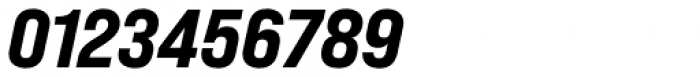Bebas Neue Pro Expanded Extra Bold Italic Font OTHER CHARS