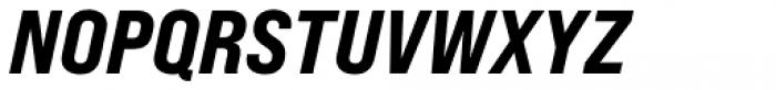 Bebas Neue Pro Expanded Extra Bold Italic Font UPPERCASE