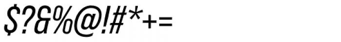 Bebas Neue Pro Italic Font OTHER CHARS