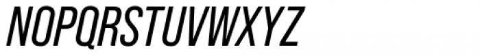Bebas Neue Pro Italic Font UPPERCASE