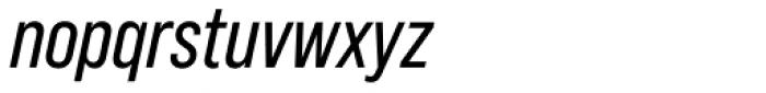 Bebas Neue Pro Italic Font LOWERCASE