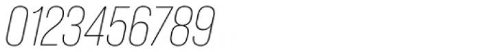 Bebas Neue Pro Light Italic Font OTHER CHARS