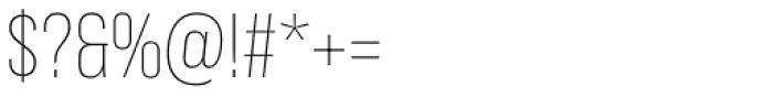 Bebas Neue Pro Light Font OTHER CHARS