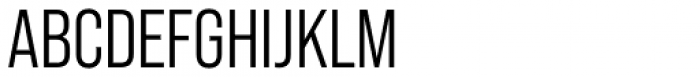 Bebas Neue Pro Middle Font UPPERCASE