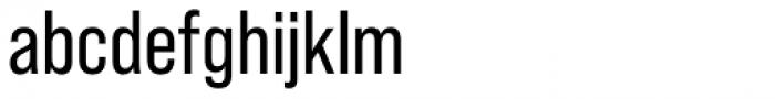 Bebas Neue Pro Regular Font LOWERCASE