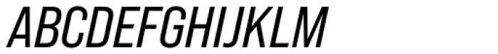 Bebas Neue Pro Semi Expanded Italic Font UPPERCASE