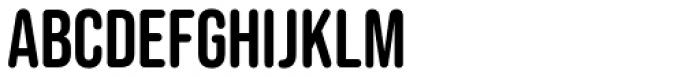 Bebas Neue Rounded  Font LOWERCASE