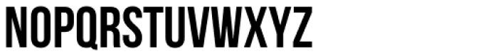 Bebas Neue Font UPPERCASE