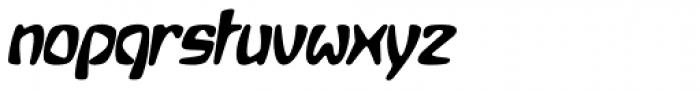 Bebopalula Bold Italic Font LOWERCASE