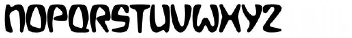 Bebopalula Bold Font UPPERCASE