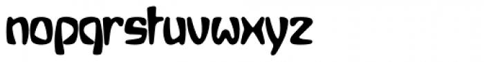 Bebopalula Bold Font LOWERCASE