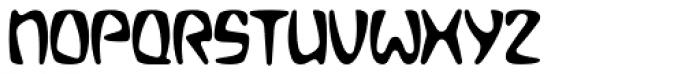 Bebopalula Font UPPERCASE