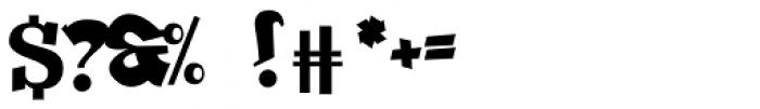 Beckasin Font OTHER CHARS
