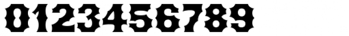 Becker Gothics Concave Font OTHER CHARS