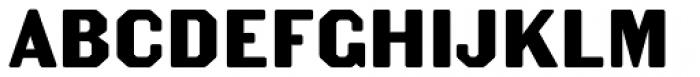 Becker Gothics Egyptian Rounded Font UPPERCASE