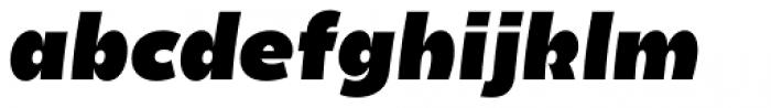 Becky Extra Bold Italic Font LOWERCASE