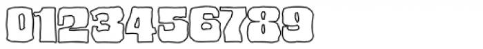 Bedrock Black Outline Font OTHER CHARS
