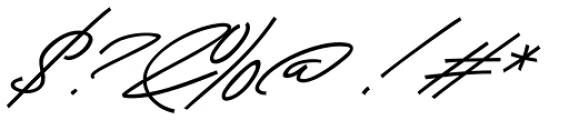 Beduga Regular Font OTHER CHARS