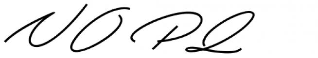 Beduga Regular Font UPPERCASE