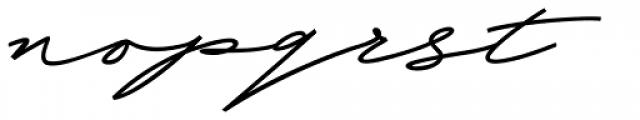 Beduga Regular Font LOWERCASE