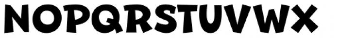 Beebzz Bold Font UPPERCASE