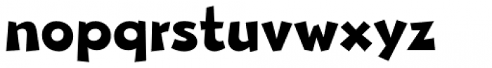 Beebzz Bold Font LOWERCASE