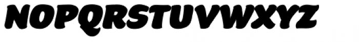 Beefcakes Italic Font LOWERCASE