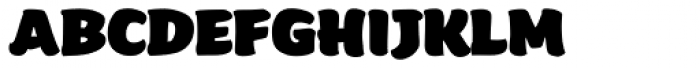Beefcakes Font LOWERCASE