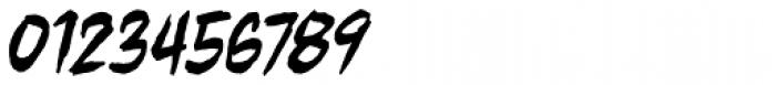 Beelzebrush BB Italic Font OTHER CHARS