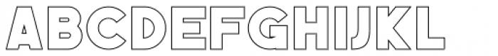 Befoil Line Font UPPERCASE