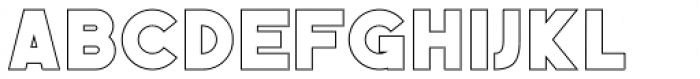 Befoil Line Font LOWERCASE