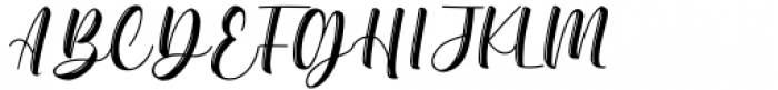 Before Sunday Regular Font UPPERCASE