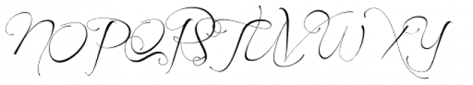 Before The Rain Font UPPERCASE