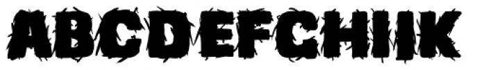 Beg Std Before Font UPPERCASE