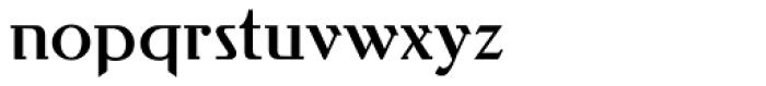 Behrens Antiqua Font LOWERCASE